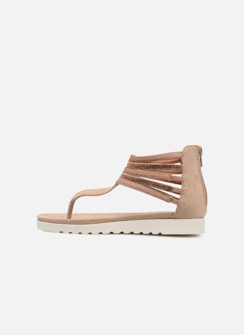 Sandales et nu-pieds Xti Amelia Beige vue face