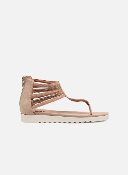 Sandales et nu-pieds Xti Amelia Beige vue derrière