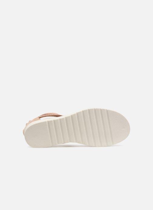 Sandales et nu-pieds Xti Amelia Beige vue haut