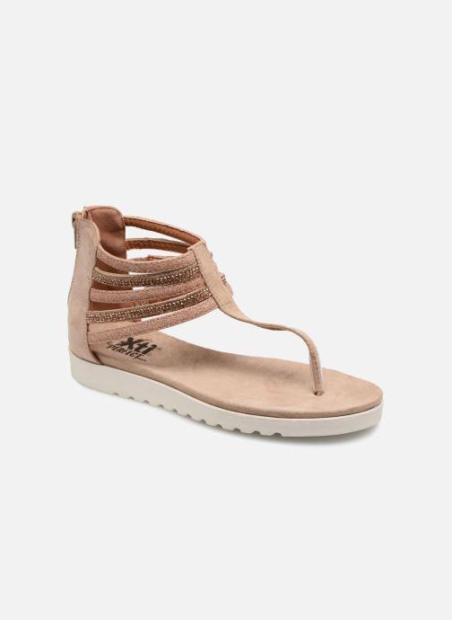 Sandales et nu-pieds Xti Amelia Beige vue détail/paire