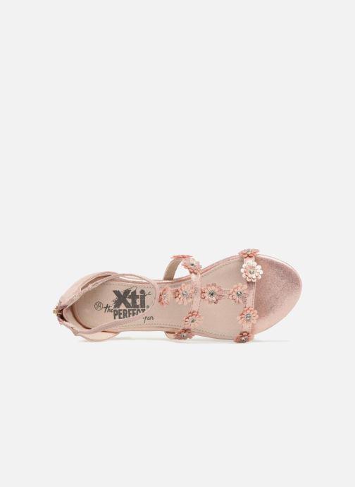 Sandales et nu-pieds Xti Antonia Rose vue gauche