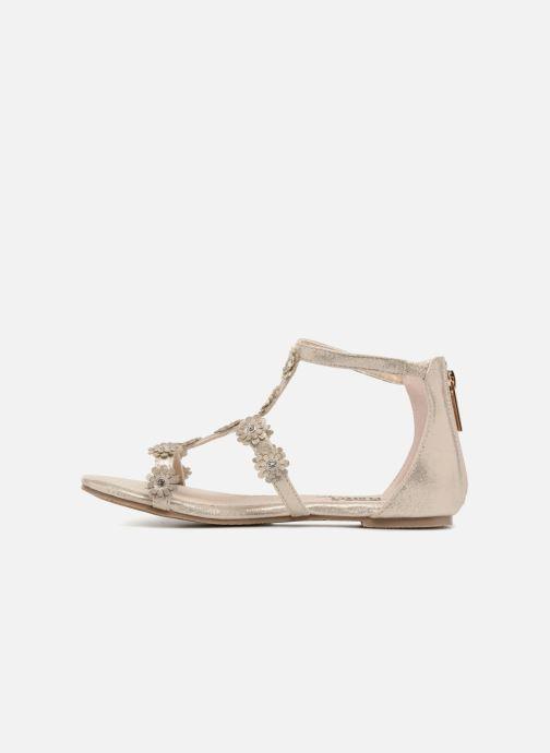 Sandales et nu-pieds Xti Antonia Or et bronze vue face