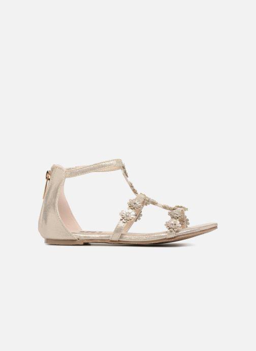 Sandales et nu-pieds Xti Antonia Or et bronze vue derrière