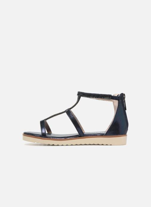 Sandales et nu-pieds Xti Camilla Bleu vue face