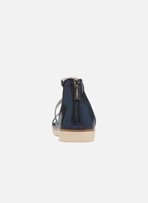 Sandales et nu-pieds Xti Camilla Bleu vue droite