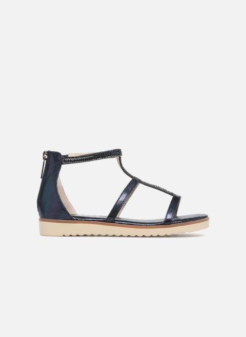Sandales et nu-pieds Xti Camilla Bleu vue derrière
