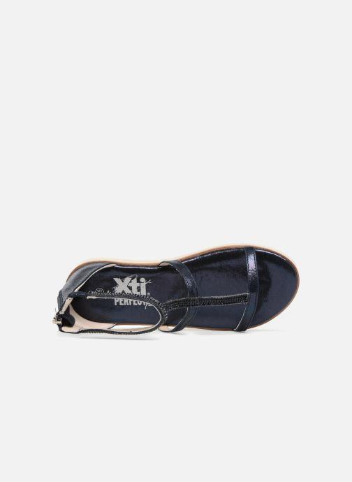 Sandales et nu-pieds Xti Camilla Bleu vue gauche