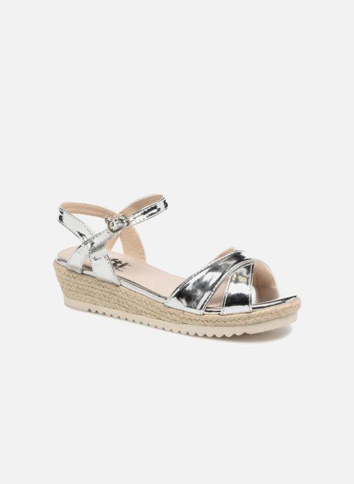 Sandaler Xti Frida Sølv detaljeret billede af skoene