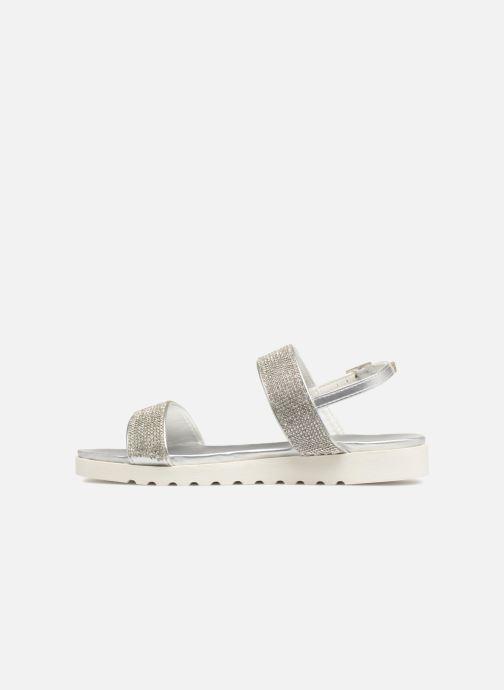Sandales et nu-pieds Xti Samantha Argent vue face