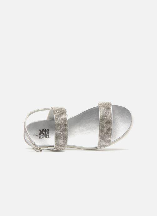 Sandales et nu-pieds Xti Samantha Argent vue gauche