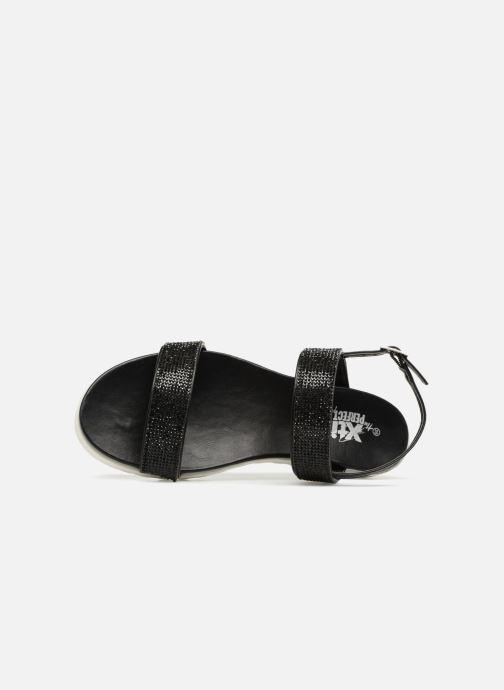Sandales et nu-pieds Xti Samantha Noir vue gauche