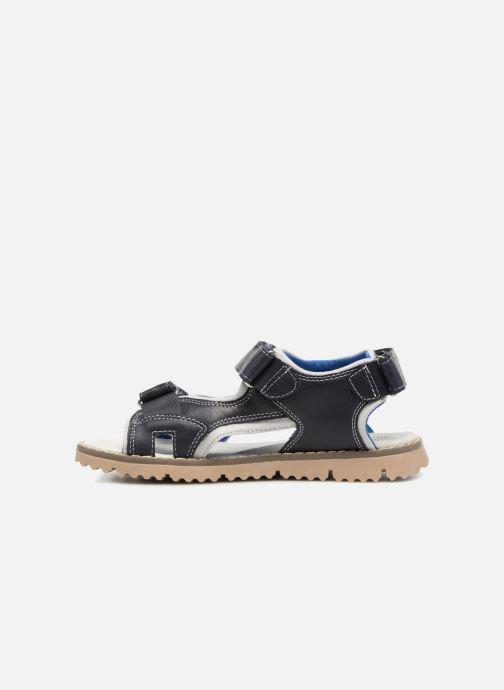 Sandales et nu-pieds Xti Brando Bleu vue face