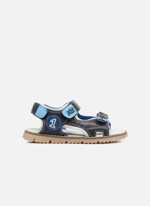 Sandales et nu-pieds Xti Brando Bleu vue derrière