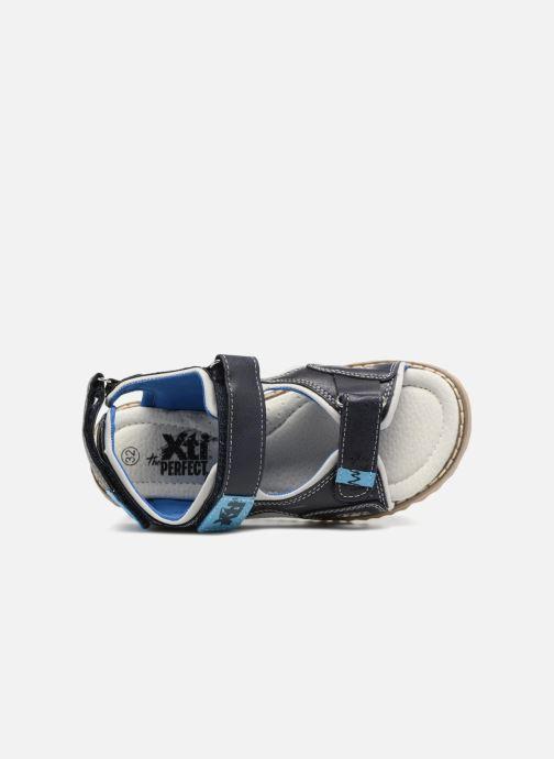 Sandales et nu-pieds Xti Brando Bleu vue gauche
