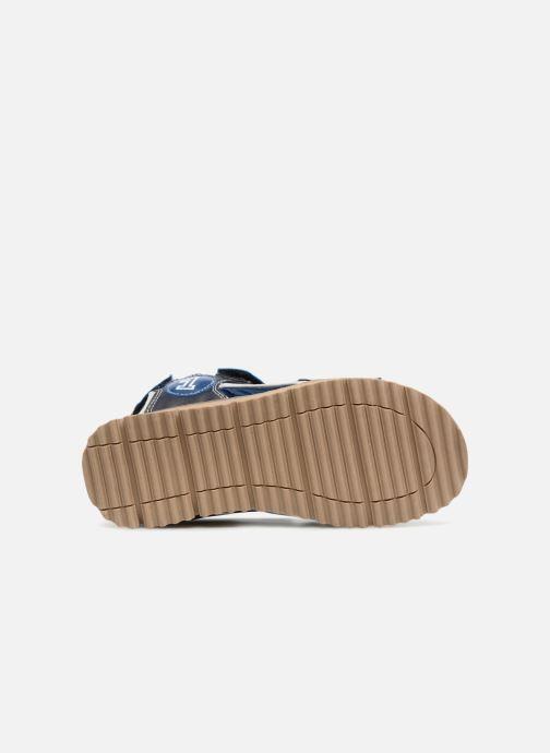 Sandales et nu-pieds Xti Brando Bleu vue haut
