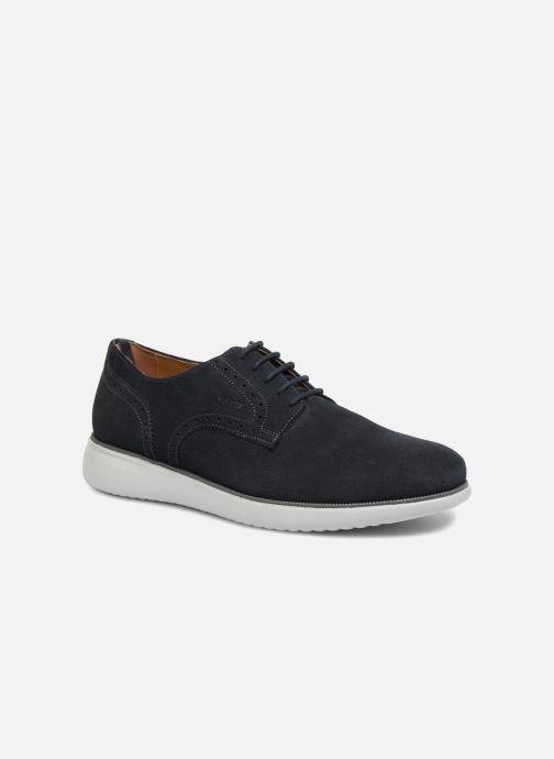 Snøresko Geox U WINFRED A U824CA Blå detaljeret billede af skoene