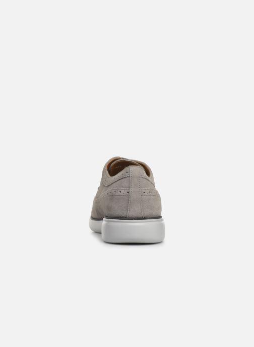 Chaussures à lacets Geox U WINFRED C U824CC Gris vue droite
