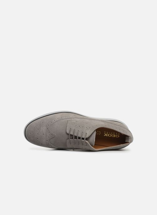 Chaussures à lacets Geox U WINFRED C U824CC Gris vue gauche