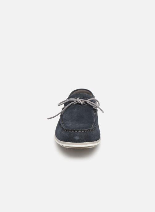 Chaussures à lacets Geox U MIRVIN B U824LB Bleu vue portées chaussures