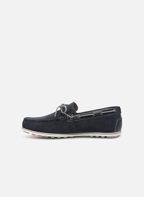 Chaussures à lacets Geox U MIRVIN B U824LB Bleu vue face