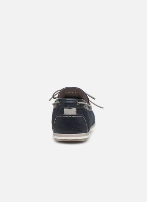 Chaussures à lacets Geox U MIRVIN B U824LB Bleu vue droite
