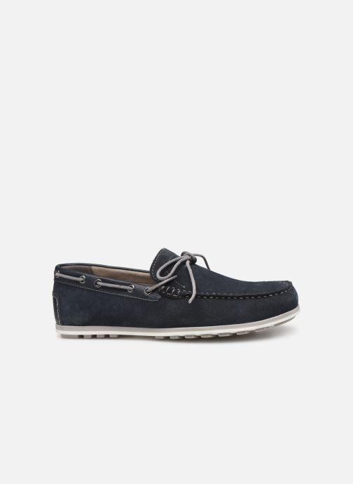 Chaussures à lacets Geox U MIRVIN B U824LB Bleu vue derrière