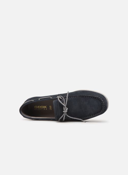 Chaussures à lacets Geox U MIRVIN B U824LB Bleu vue gauche