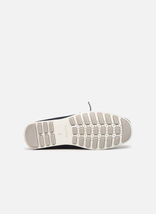 Chaussures à lacets Geox U MIRVIN B U824LB Bleu vue haut