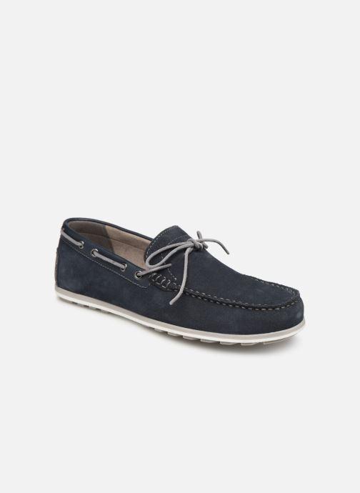 Chaussures à lacets Geox U MIRVIN B U824LB Bleu vue détail/paire