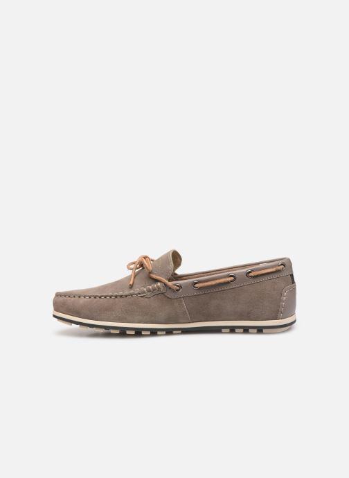 Chaussures à lacets Geox U MIRVIN B U824LB Gris vue face