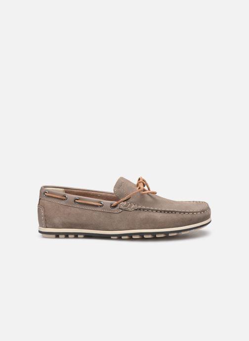 Chaussures à lacets Geox U MIRVIN B U824LB Gris vue derrière