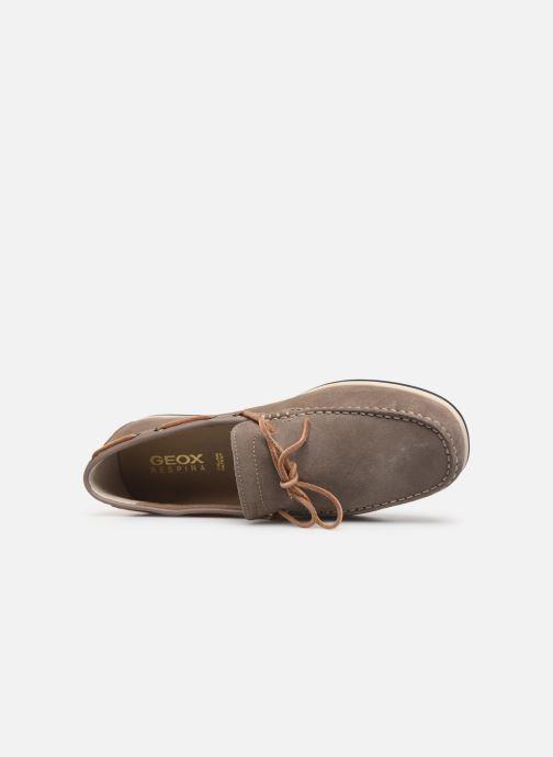Zapatos con cordones Geox U MIRVIN B U824LB Gris vista lateral izquierda