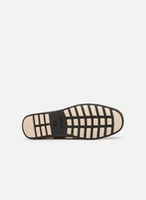 Chaussures à lacets Geox U MIRVIN B U824LB Gris vue haut
