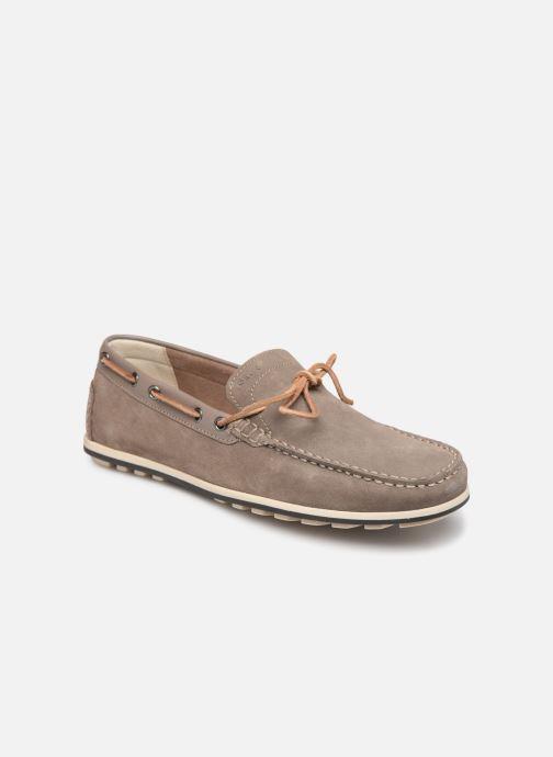 Chaussures à lacets Geox U MIRVIN B U824LB Gris vue détail/paire