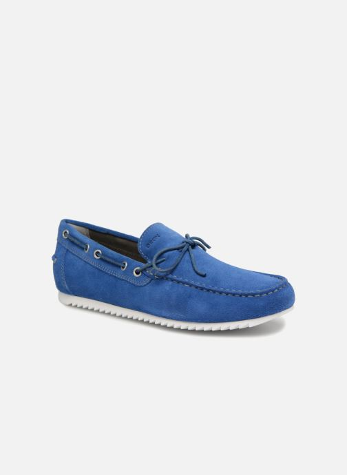 Snøresko Geox U SHARK A U82Q5A Blå detaljeret billede af skoene