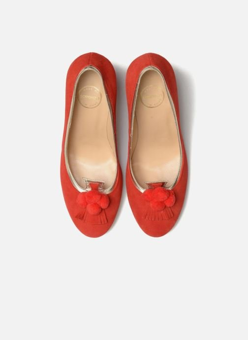 Escarpins Made by SARENZA Bombay Babes Escarpins #1 Rouge vue portées chaussures