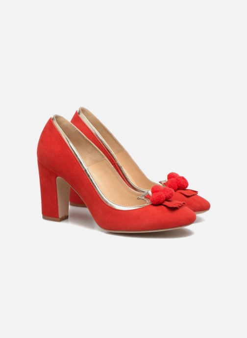 Zapatos de tacón Made by SARENZA Bombay Babes Escarpins #1 Rojo vistra trasera