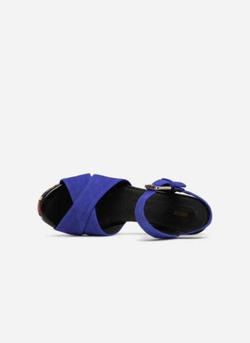 Sandales et nu-pieds Geox D GALENE C D828WC Bleu vue gauche