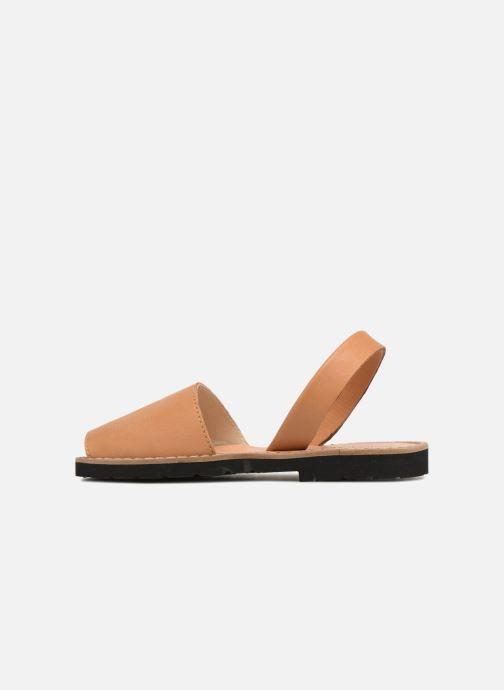 Sandales et nu-pieds MINORQUINES Avarca E Marron vue face