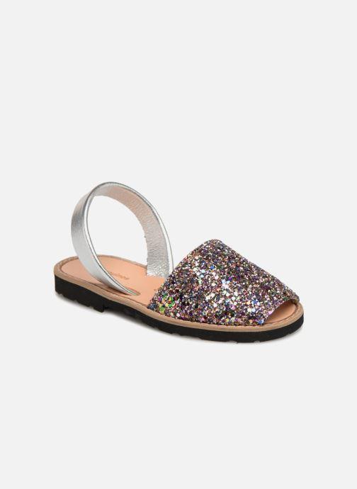 Sandales et nu-pieds MINORQUINES Avarca E Multicolore vue détail/paire