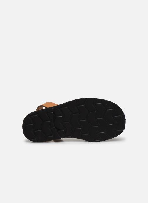Sandales et nu-pieds MINORQUINES Avarca E Marron vue haut