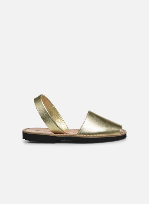 Sandales et nu-pieds Minorquines Avarca E Argent vue derrière