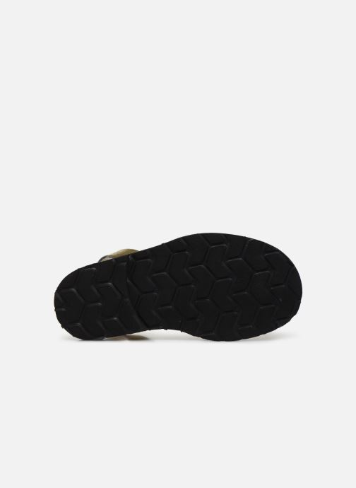 Sandales et nu-pieds Minorquines Avarca E Argent vue haut