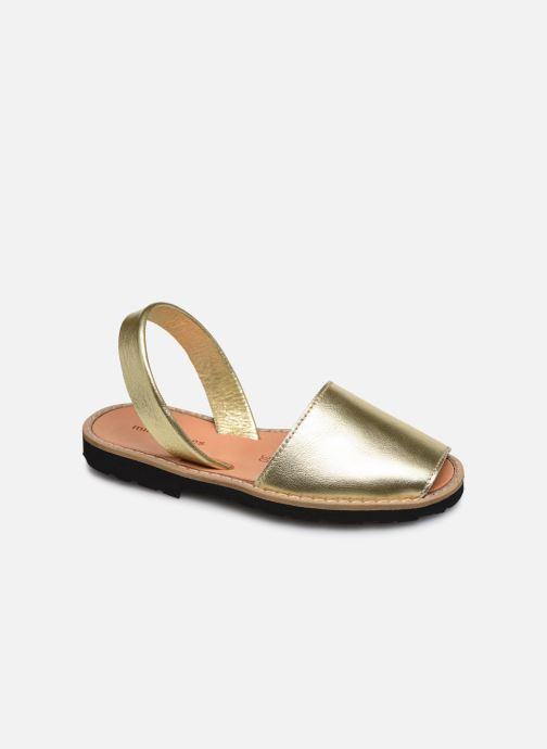 Sandales et nu-pieds Minorquines Avarca E Argent vue détail/paire