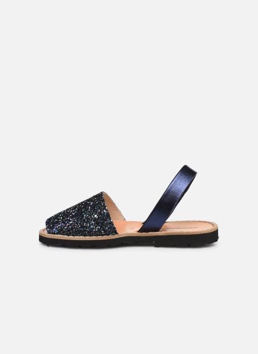 Sandali e scarpe aperte Minorquines Avarca E Azzurro immagine frontale