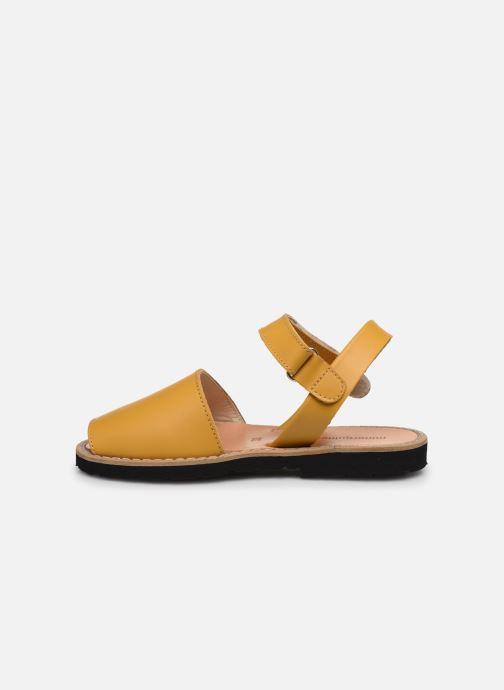 Sandali e scarpe aperte Minorquines Avarca E Giallo immagine frontale