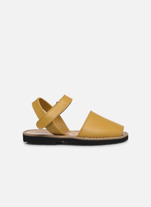 Sandales et nu-pieds MINORQUINES Avarca E Jaune vue derrière