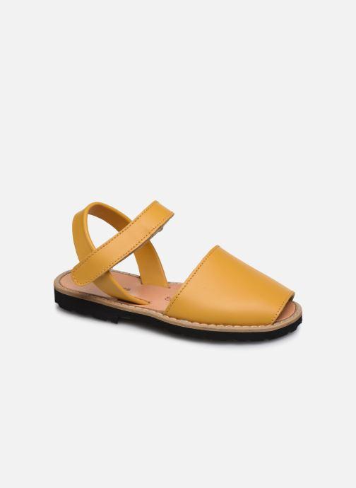 Sandales et nu-pieds MINORQUINES Avarca E Jaune vue détail/paire