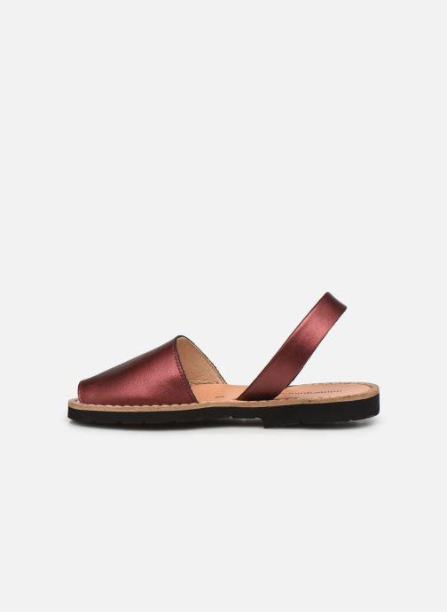 Sandali e scarpe aperte Minorquines Avarca E Argento immagine frontale