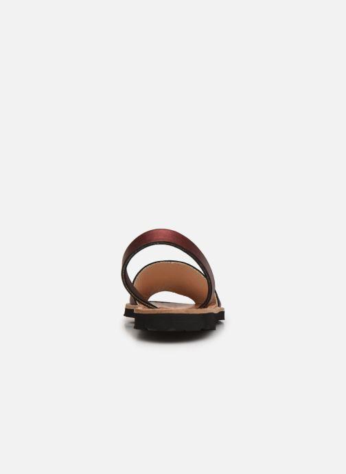 Sandali e scarpe aperte Minorquines Avarca E Argento immagine destra